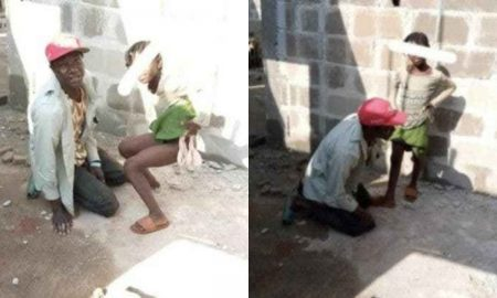 Security man caught defiling a little girl