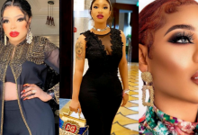 """Photo of """"We die here"""", Tonto Dikeh supports her bestie, Bobrisky after he blasted Toyin Lawani over Nengi"""
