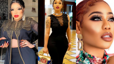 "Photo of ""We die here"", Tonto Dikeh supports her bestie, Bobrisky after he blasted Toyin Lawani over Nengi"