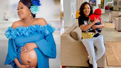 Photo of Toyin Abraham celebrates her son, Ire's birthday in advance
