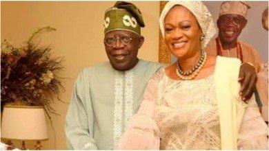 Photo of Uproar as Remi Tinubu's 60th birthday photo album takes over Nigerian Newspapers (video)