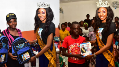 """Photo of Beauty Queen, Felicia Boko starts """"Back to School"""" campaign to mark birthday"""