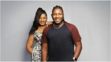 Photo of What my mum does when female friends visit me – Omotola Ekeinde's son, Captain E opens up