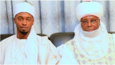Photo of Nuhu Ribadu's daughter, Fatima weds Atiku Abubakar's son, Aliu