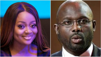 Photo of Jackie Appiah opens up on being pregnant for President George Weah