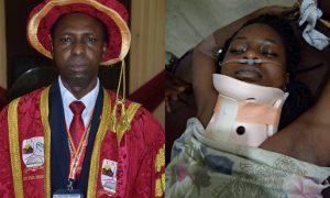 Vice chancellor and Victim