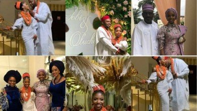 Photo of Pastor Bimbo Odukoya's daughter, Tobi ties the knot 2 years after engagement (Photos/Video)