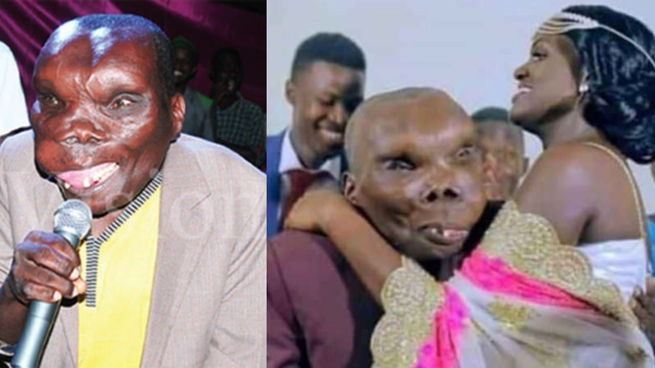 Ugliest man in Uganda marries third wife - KFN