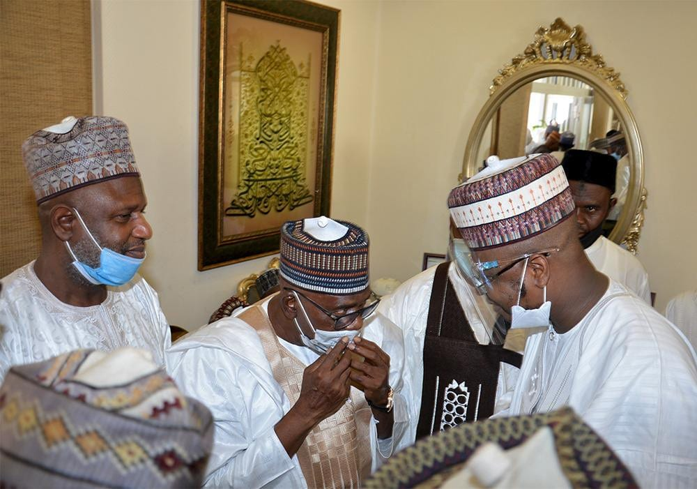 Check out stunning photos from Atiku's son and Ribadu's daughter wedding