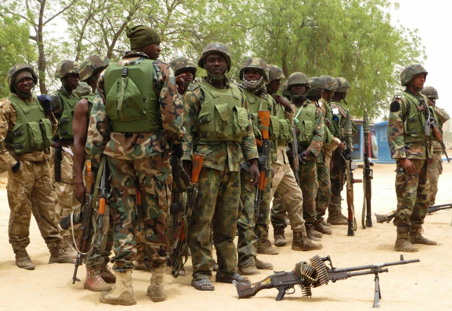 Military troop