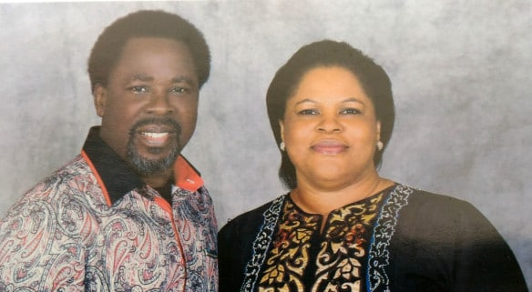 I don't want a concubine I want just you TB Joshua's wife recounts how they fell in love