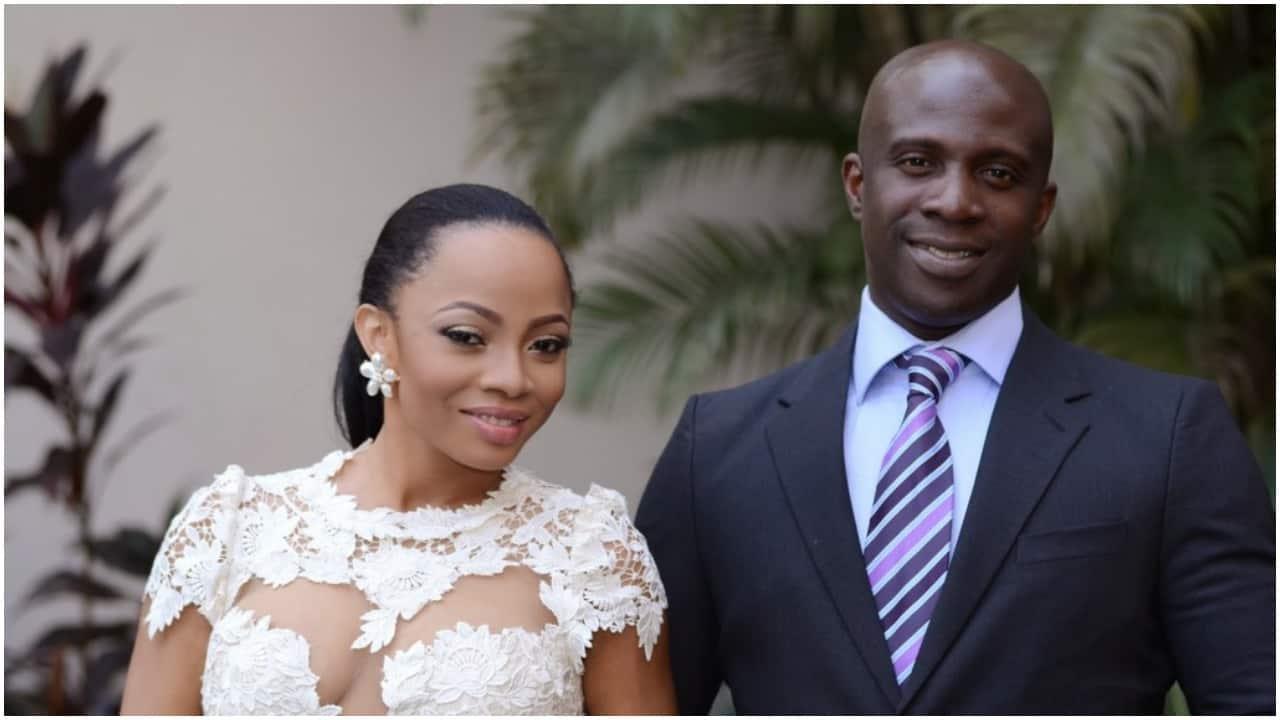 Toke Makinwa and Ex husband