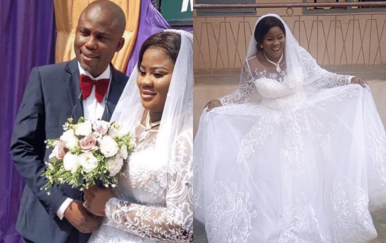 Actress Oyinkasola Emmanuel marries