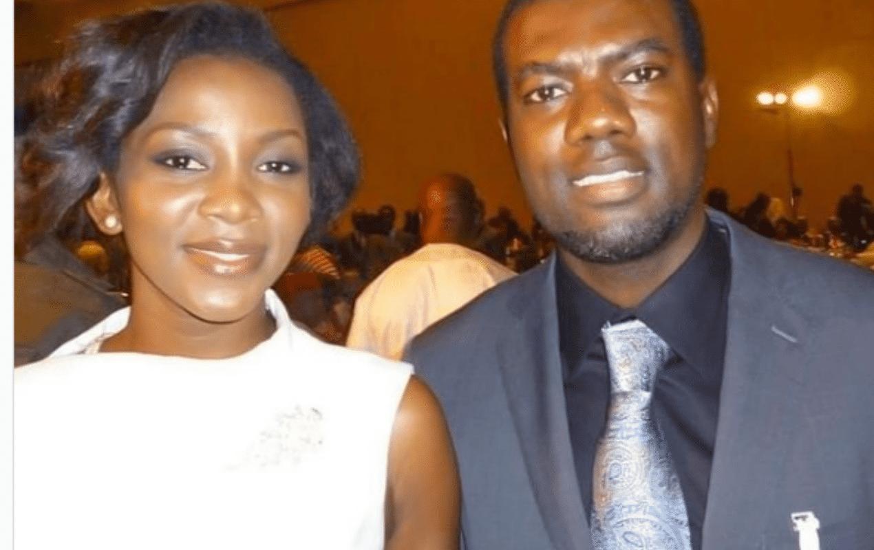 Reno Omokri and Genevieve Nnaji