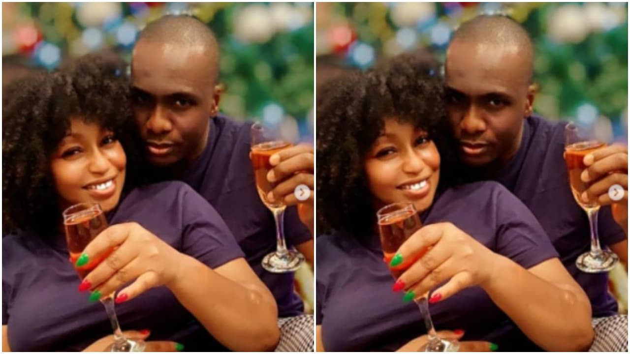 Rita Dominic and lover Fidelis Anosike