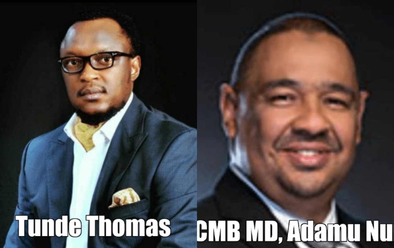 Tunde Thomas and FCMB MD