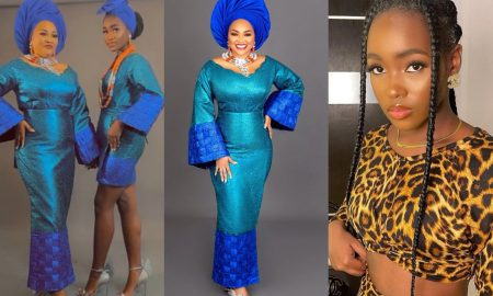 'She taught me the meaning of sacrifice' - Mercy Aigbe's daughter pens heart touching message to her on 43rd birthday