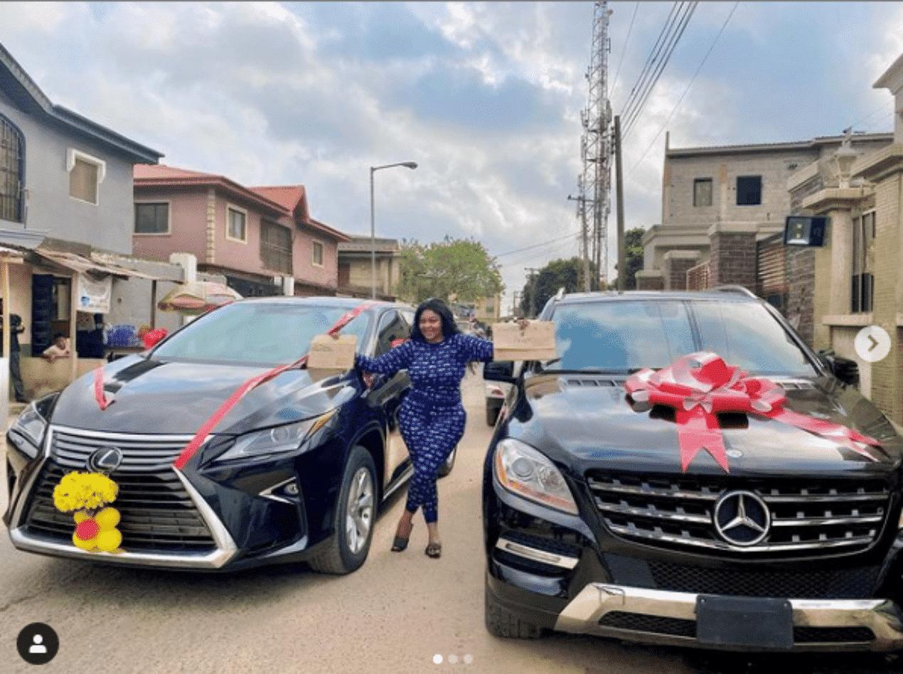 Biodun Okeowo gets new car