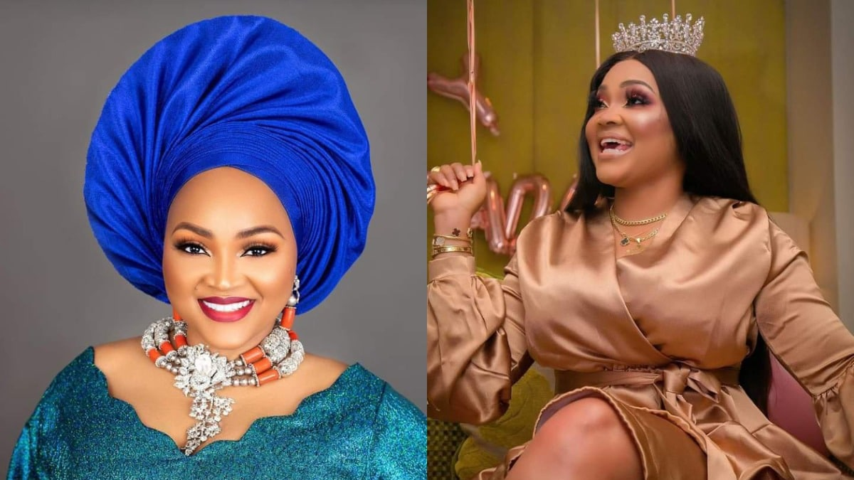 Check out photos and videos from actress, Mercy Aigbe's 43rd birthday