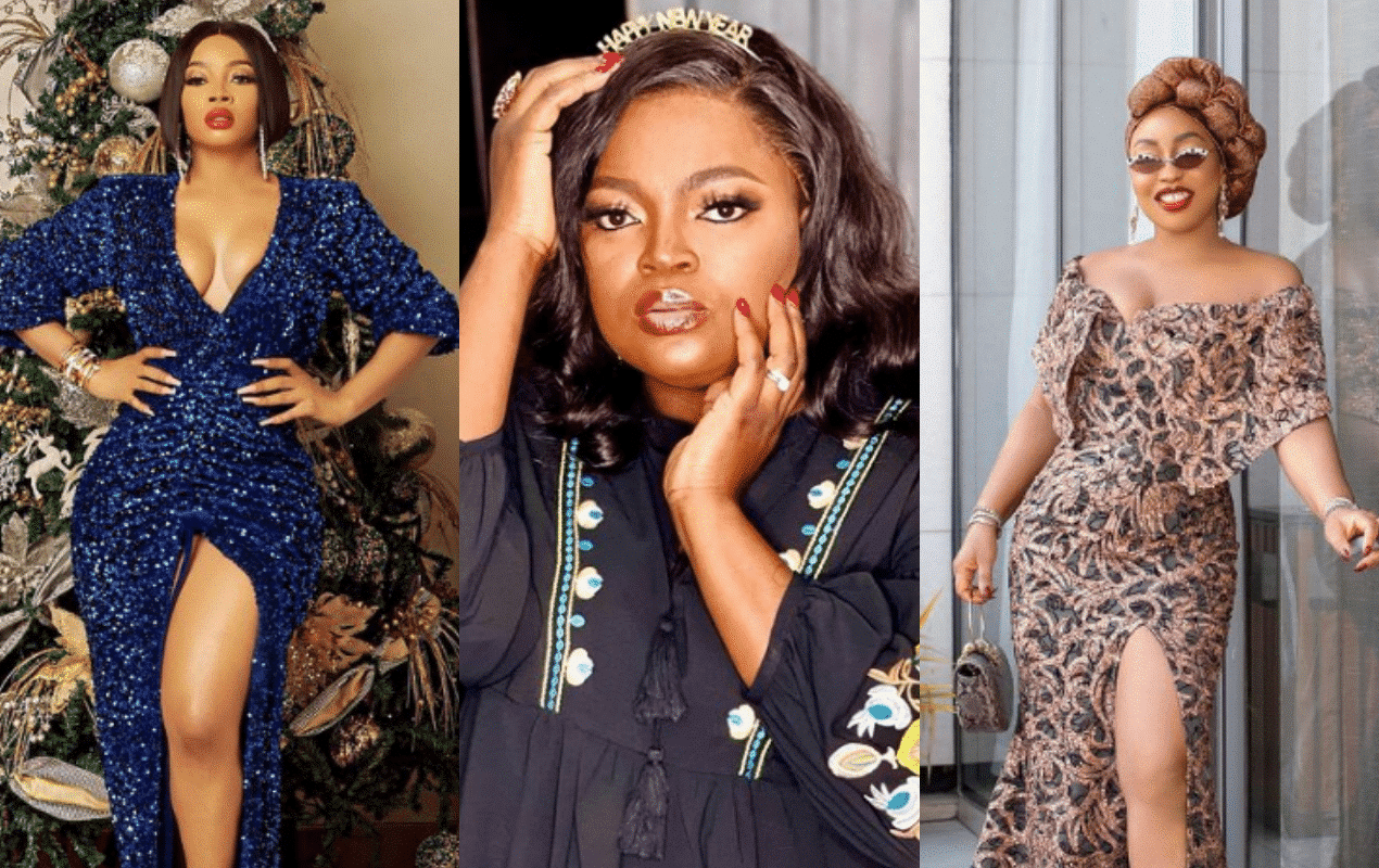 Funke Akindele thanks Rita Dominic and Toke Makinwa