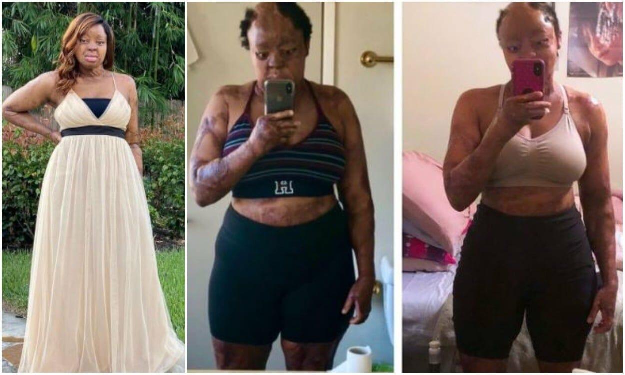Kechi Okwuchi amazing weight loss transformation