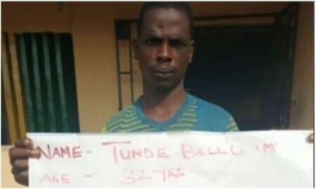 Man arrested for rape