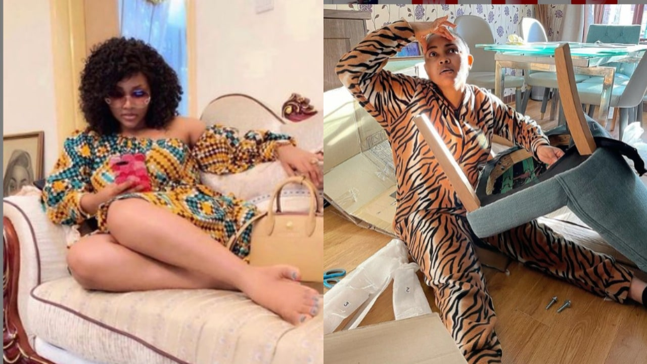 Mercy Aigbe cries out