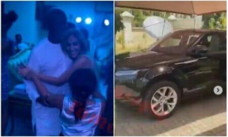 Regina Daniels' husband Ned Nwoko, buys latest Range Rover for his Moroccan