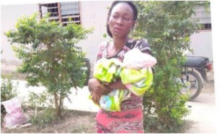 Woman tries to sell her baby