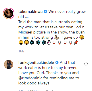 Funke Akindele appreciates Rita Dominic and Toke Makinwa for changing her life 3