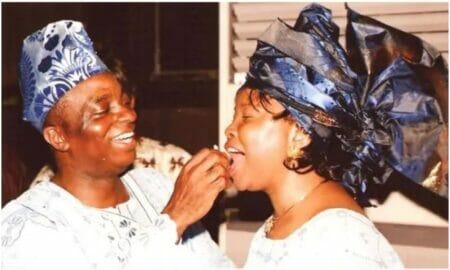 Bishop David celebrates wife, Faith