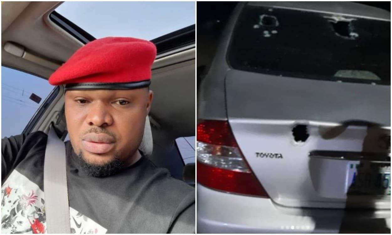 Harrison Gwamnishu, survives assassination