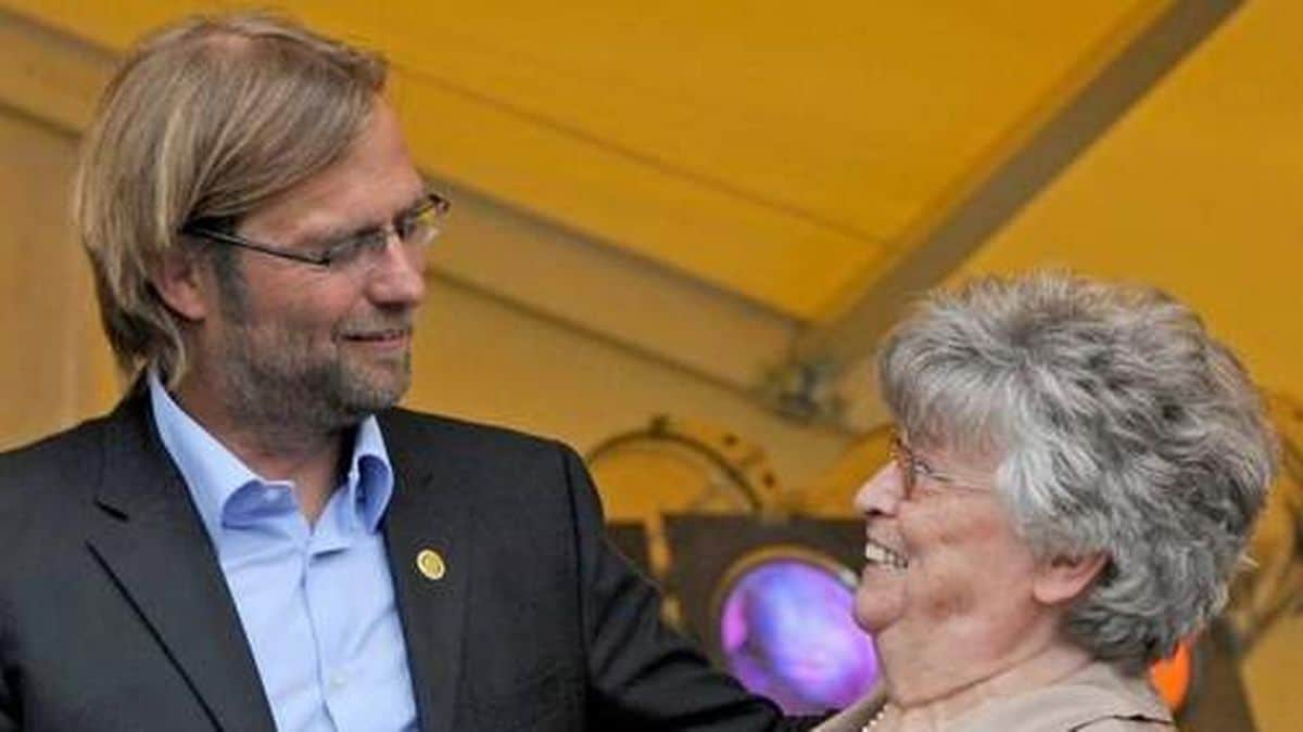 Klopp and mother