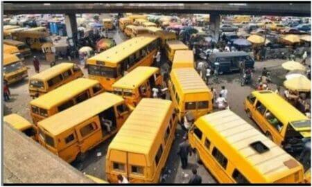 Lagos yellow buses