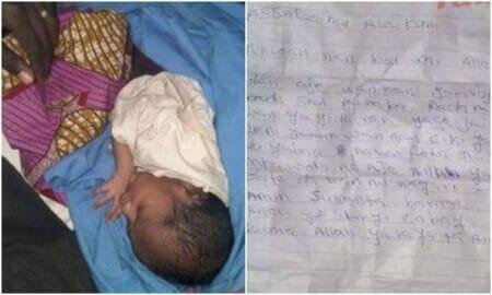 Mother dumps newborn baby
