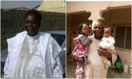 Nigerian father dies