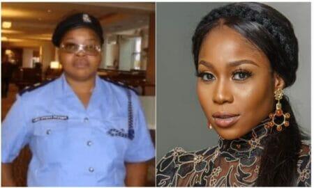 Nigerians drag actress, Lily Afe