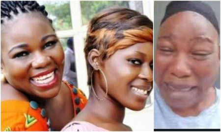 Ade Ameh cuts her hair