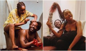 Adekunle gold allegedly cheats on Simi