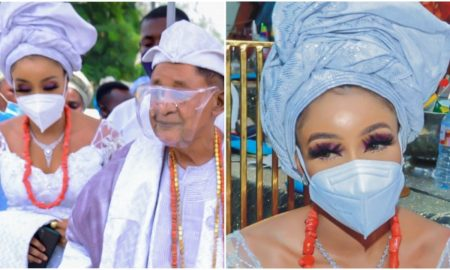 Alaafin of oyo and chioma
