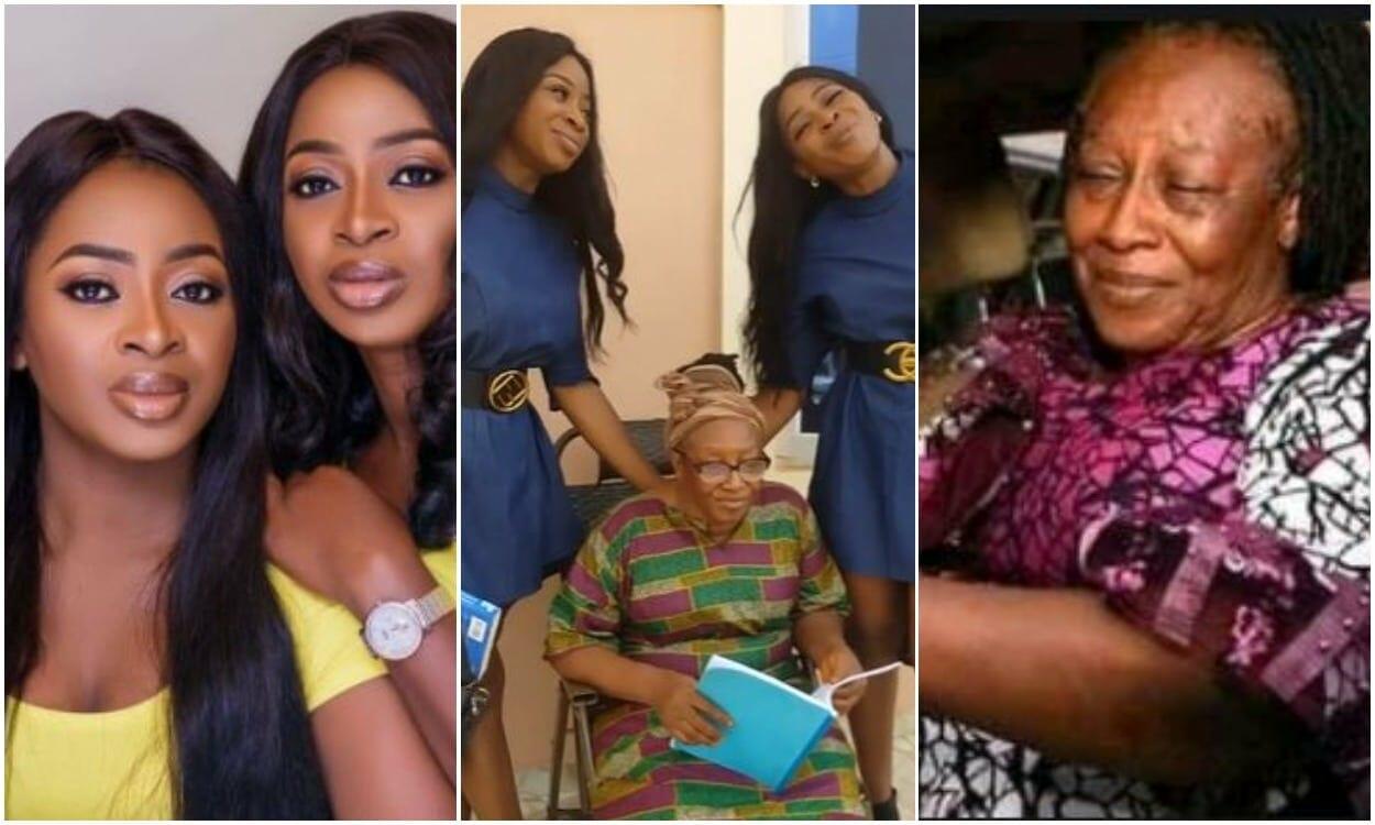 Aneke twins celebrates Patience Ozokwor