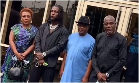 Burna Boy and Wike