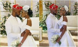 Debola Williams weds lover