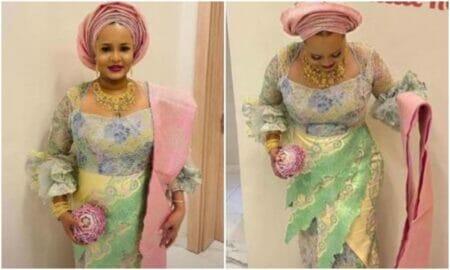 Oba Elegushi's second wife, Hadiza,