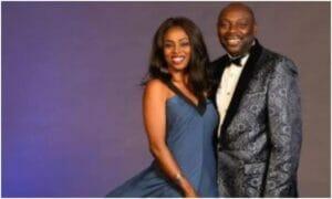 Segun Arinze appreciates his wife