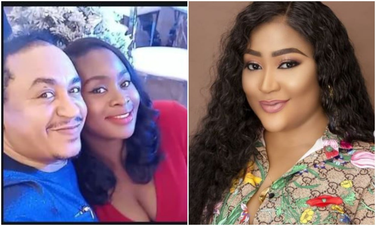Uche Eledu declares supports for Daddy Freeze's partner