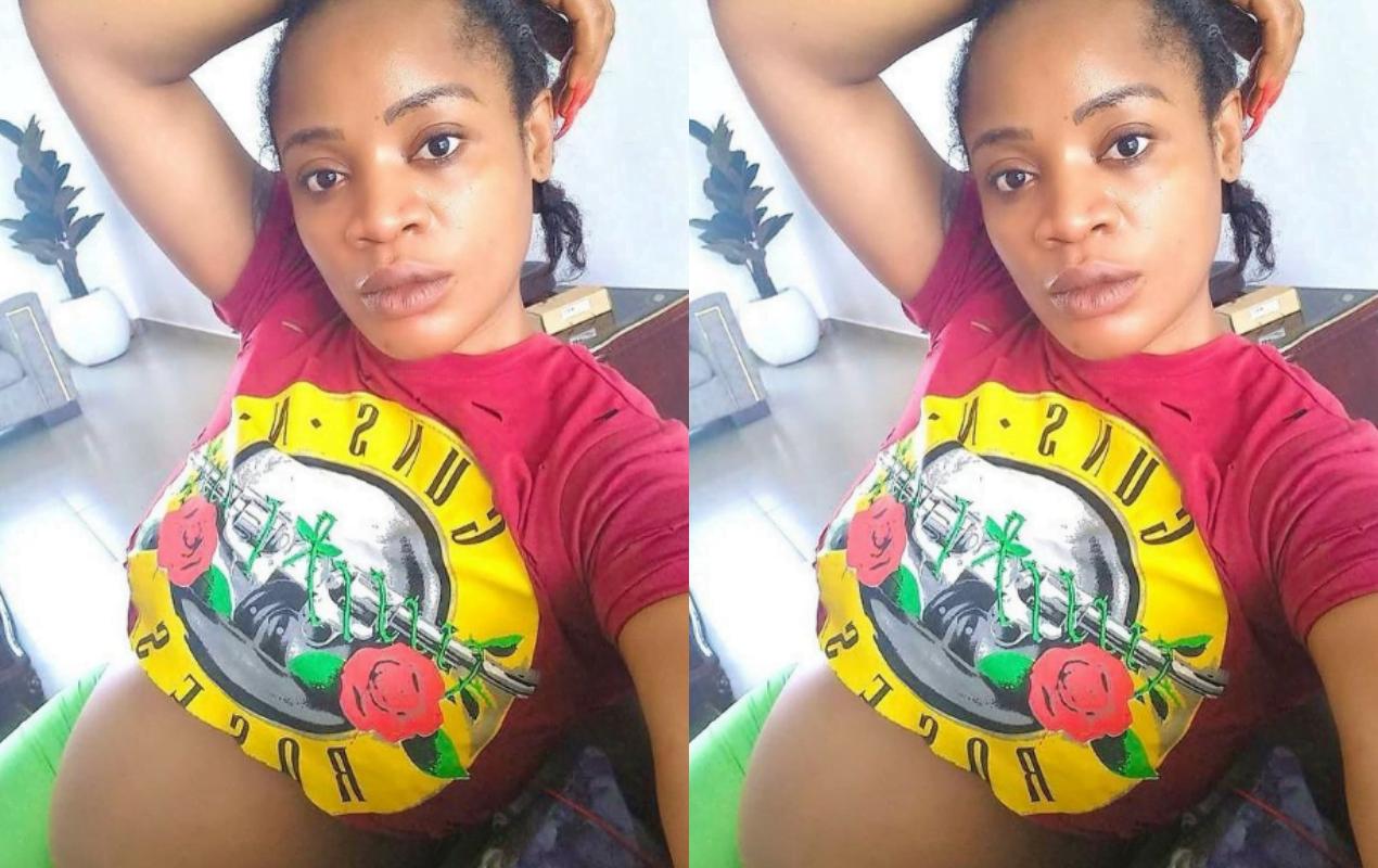 Uche Ogbodo pregnant again