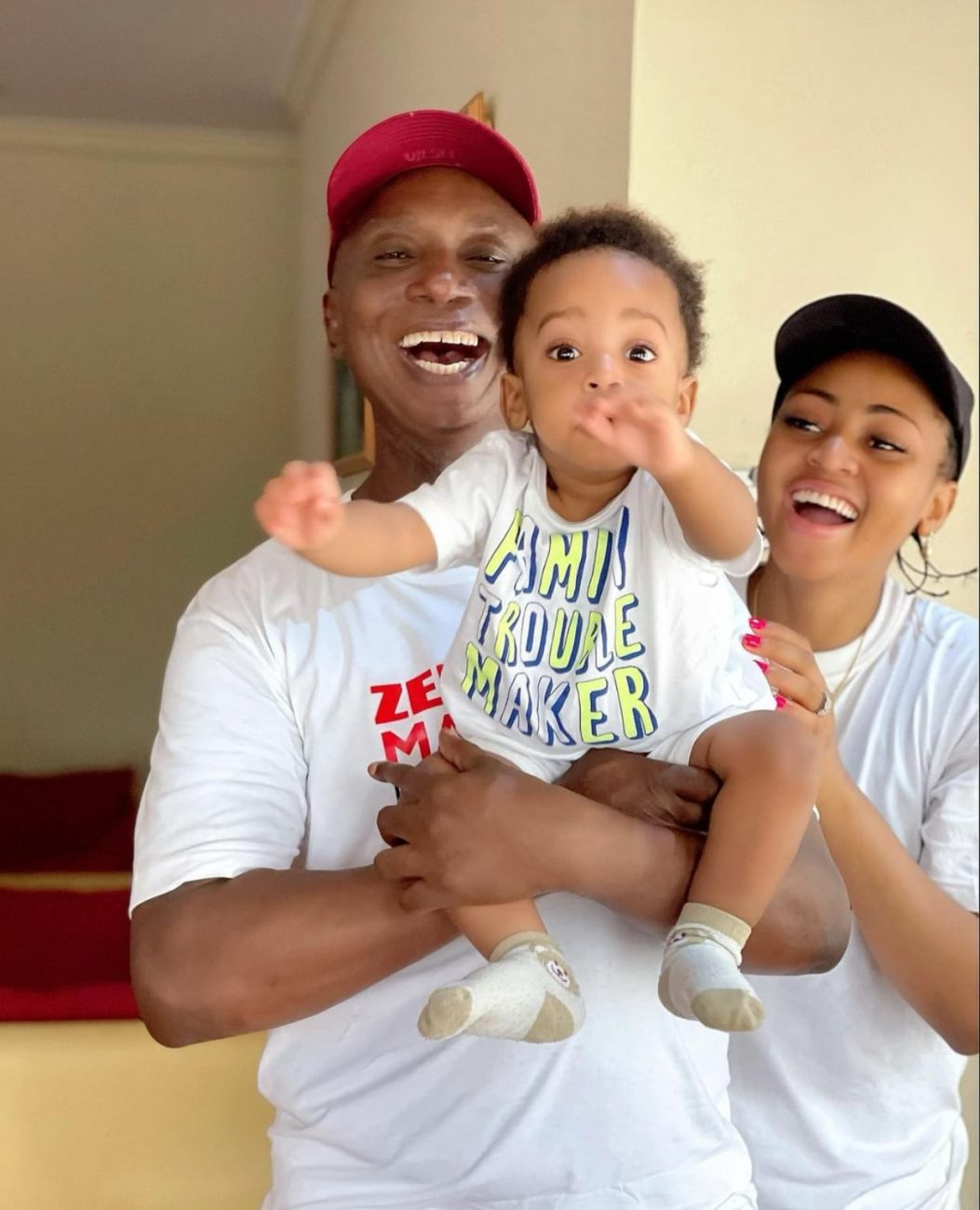 Regina Daniels and Ned Nwoko celebrate their son at 10 months with adorable family photos