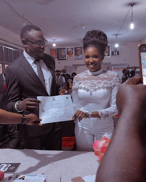 Biola Bayo Marries Again 1 1 1