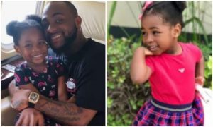 Davido's 5-year-old daughter, Imade,